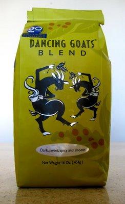 batdorf's dancing goat blend coffee